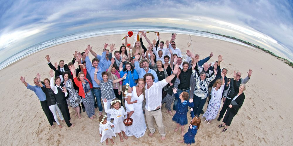 ian-cooper-wedding-photography-cape st francis beach group
